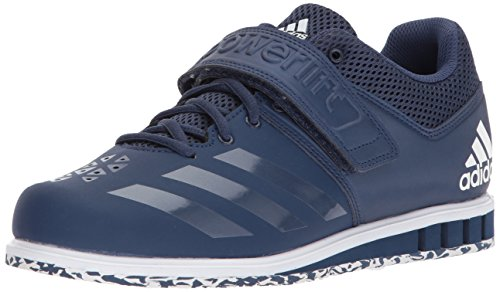 adidas Men's Powerlift.3.1 Cross Trainer, Noble Indigo/Noble Indigo/White, 12.5 M US