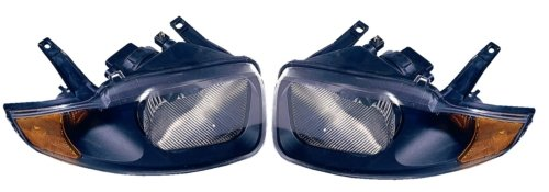 Chevy Cavalier Replacement Headlight Assembly - 1-Pair