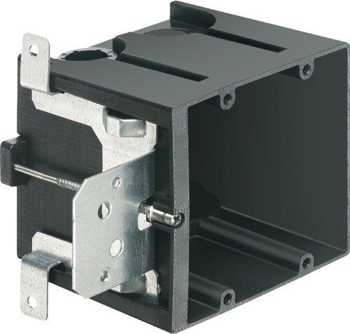 Arlington Industries FA102 2-Gang Adjustable Outlet Mount Box, 10-Pack