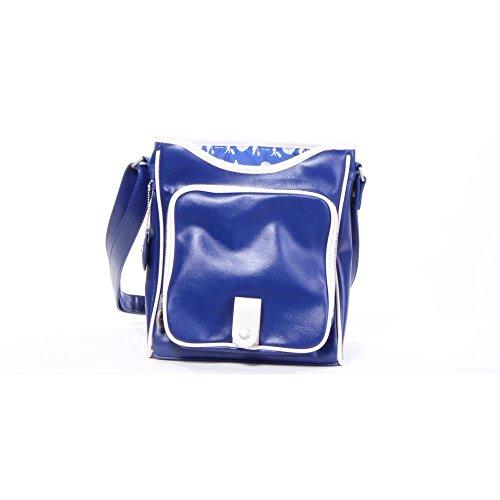 Pan Hombres Bolsas Azul Bag PVC Am 100 Traffic Shoulder 1wrq4gY1x