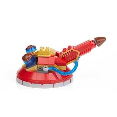Mega Bloks Skylanders Giants Turret Air Raid with Terrafin (95409): Toys & Games