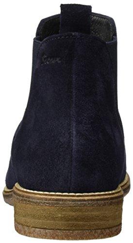 Sioux Damen horatia Chelsea Boots Blau (Night 008)