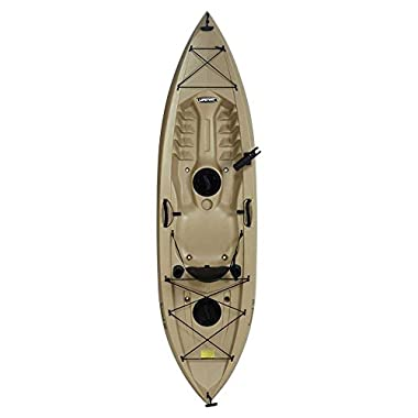 Lifetime Tamarack Sit-On-Top Kayak, Tan, 120