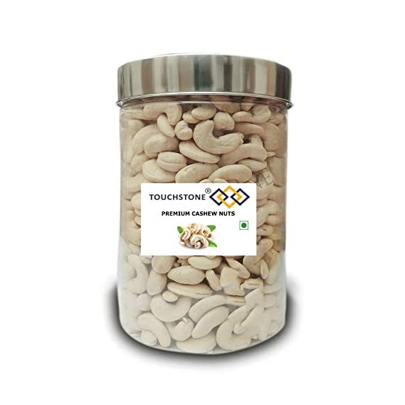TOUCHSTONE - our motto is TOUCHSTONE Whole Cashew Nuts W180 -1KG (1000 Grams)