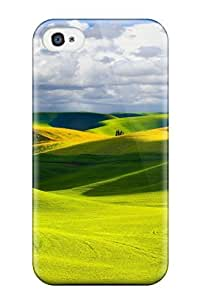 For Iphone 4/4s Premium Tpu Case Cover Field Protective Case