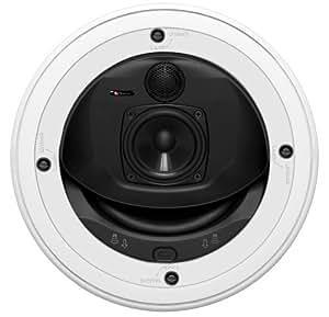 """Boston Acoustics HSi 4830 Blanco altavoz - Altavoces (Set de altavoces, De 3 vías, Empotrado en pared/techo, 2,54 cm (1""""), 20,3 cm (8""""), 2,5 cm)"""