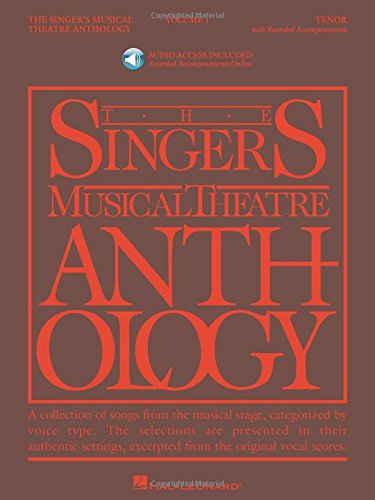 Singer's Musical Theatre Anthology Tenor Volume 1 Bk/Audio Online Smta pdf epub
