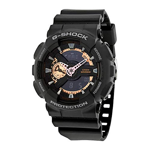 Casio Men's GA110RG-1A G-Shock Black Watch from Casio