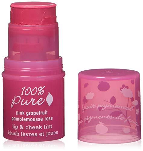 100% Pure Pink Grapefruit Glow Lip & Cheek Tint, .26 oz