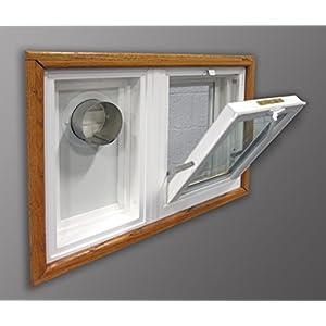 Basement Window With Dryer Vent