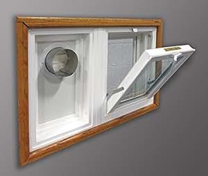 Amazon Com Dryer Vent And Hopper Window 30 Quot W X 16 Quot H Left