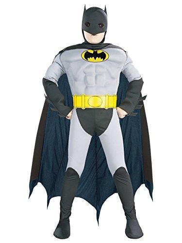 Batman 52 Costume (Muscle Chest Batman Halloween Costume-Medium Size (8-10))