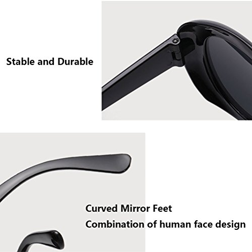 Style Round UV Men Women Beige lunettes amp;Red Sunglasses à de Qualité Étui for 400 Mode lunettes Protection Unisex soleil Zhhlinyuan BCEZOq5xnn