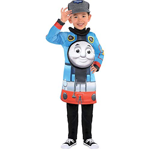 Suit Yourself Thomas the Tank Engine Halloween Costume for Toddler Boys, 3-4T, Includes Hat]()