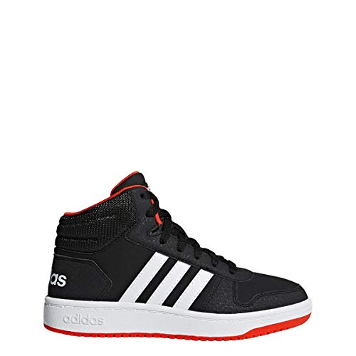 adidas Unisex Hoops 2.0 Basketball Shoe, Black/White/red, for sale  Delivered anywhere in USA