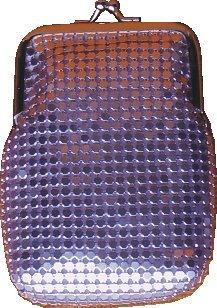 Purple Metal Mesh Sequin Cigarette