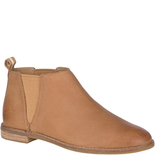 Boot Foam Wolverine (Sperry Women's Seaport Daley Ankle Boot, tan, 9 M US)
