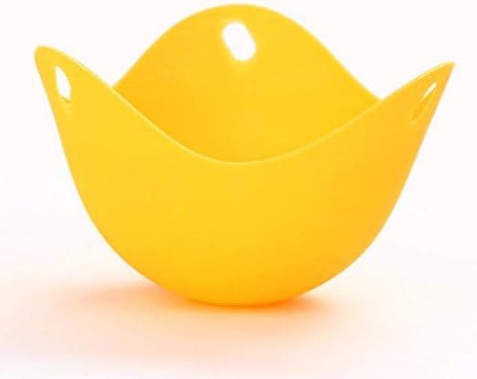 Yuaer Huevo escalfado Huevera escalfada Huevera de Silicona al ...