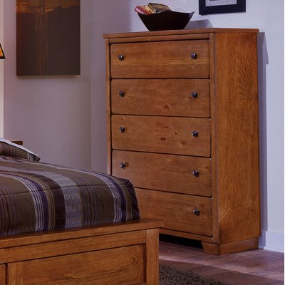 "Progressive Furniture Diego Chest, 36"" x 18"" x 56"", Cinnamon Pine"