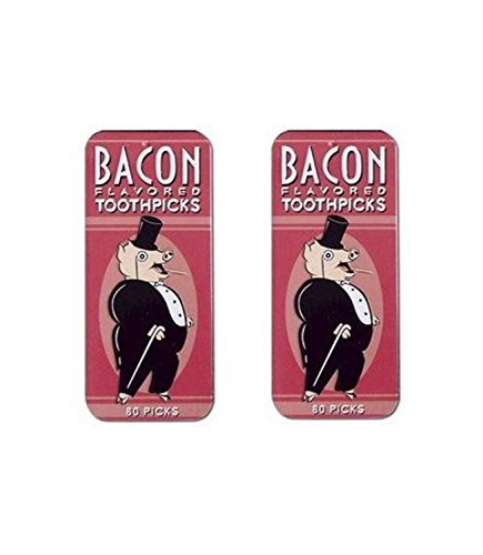 Accoutrements Bacon Flavored Toothpicks Packs