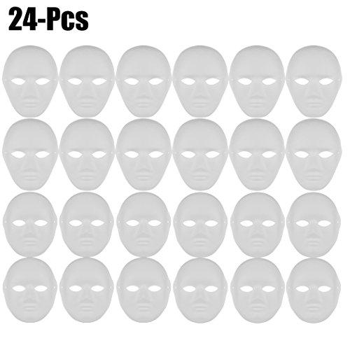 paper mache mask blanks