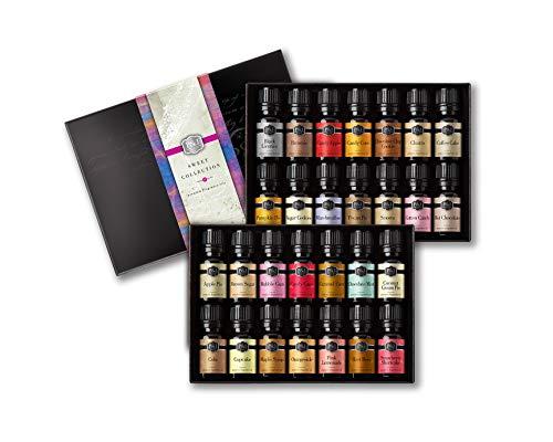 Sweet Set of 28 Fragrance Oils - Premium Grade Scented Oil - 10ml