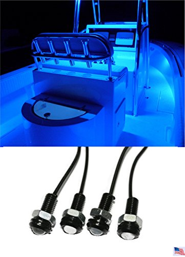 Blue Led Marine Lights - 6