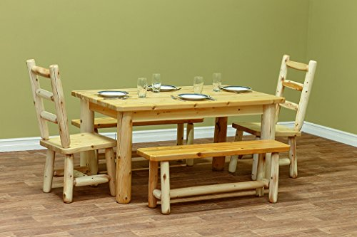 (White Cedar Classic 42x42 Farm Table *Unfinished*)