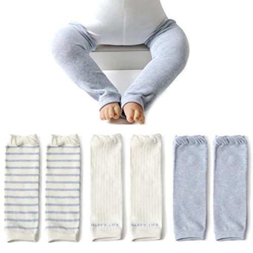 Elesa Miracle Baby Toddler Leg Warmer (3pc- Blue)