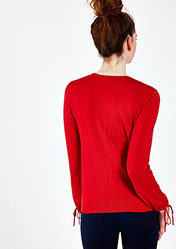 LOLALIZA - Cardigan basique avec boutons - Red Goji - Tailles XS-XL