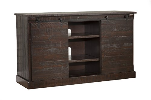 tv console distressed - 7