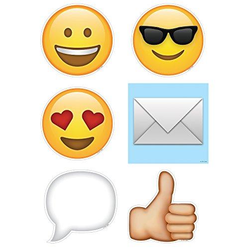 Creative Teaching Press Emoji's Cut Outs, 6