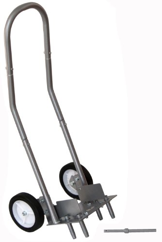 Bosmere N460 Hollow Tine Lawn Aerator Increase Soil Oxygen Levels Reduce Moss