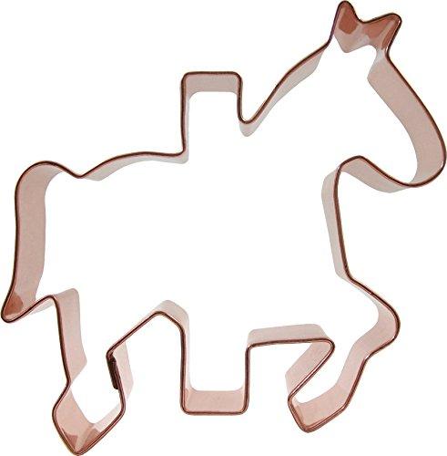 Carousel Horse Cookie CutterCopper Construction4-7/8