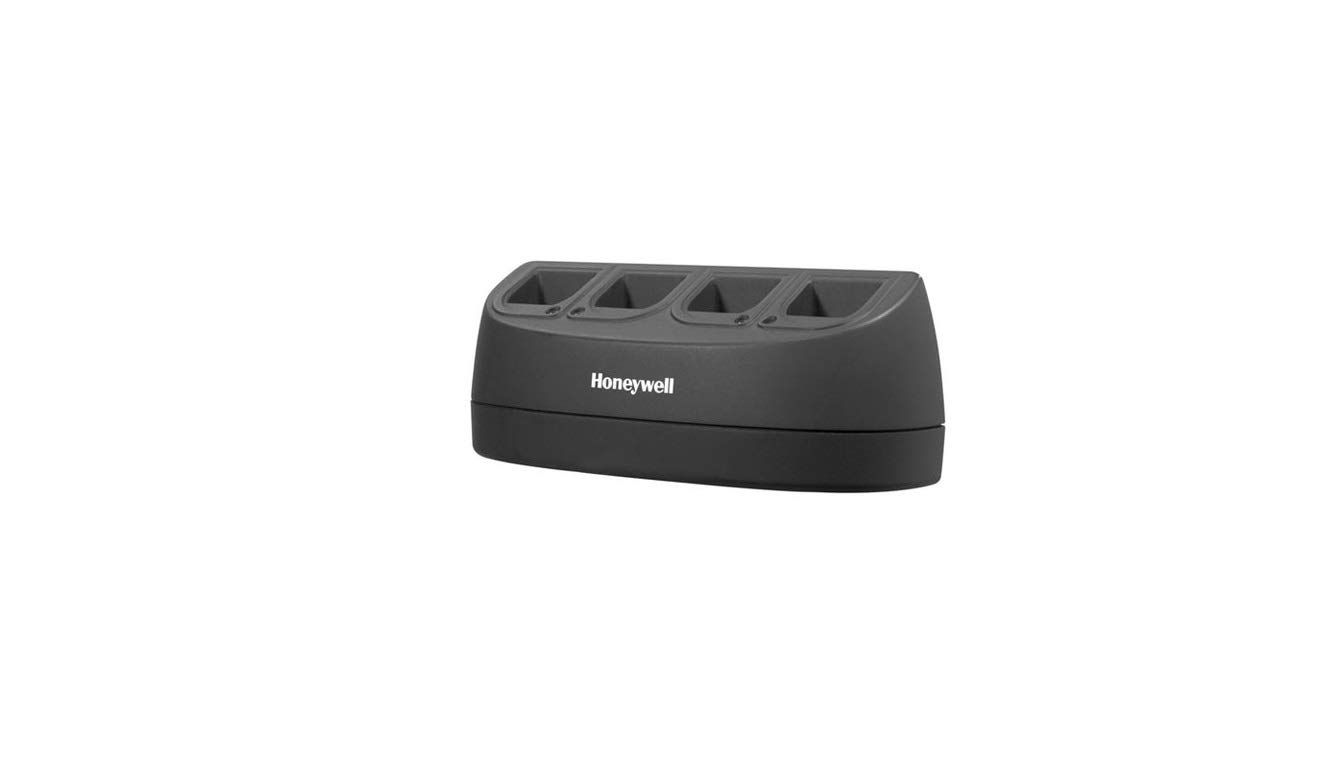 Honeywell Scanning MB4-BAT-SCN01NAD06 Honeywell, 4 Bay Battery Charger, Use with 1202G, 3820, 3820I, 4820, 4820I, 1902 and 1911I, Lithium-Ion Batteries, Na Desktop Lv6 Pwr Supply