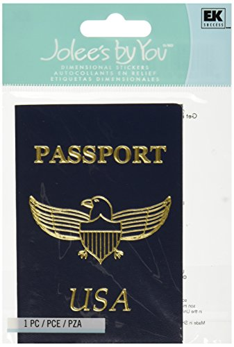 Price comparison product image Jolee's By You Dimensional Sticker, Passport