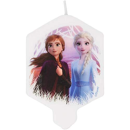 Disney Frozen - Vela para cumpleaños (9 cm), diseño de Anna ...
