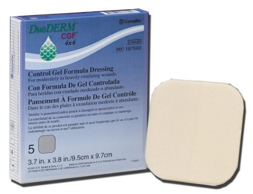 - DuoDERM CGF Control Gel Formula Dressing 4