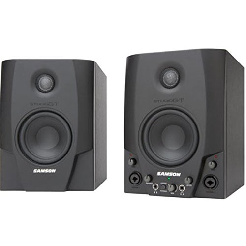 - Samson Studio GT Active Studio Monitors with USB Audio Interface
