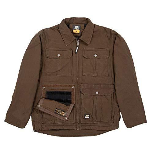 Berne CCWJ09 Men's Lightweight Echo One One Jacket, Bark - Large/Regular (Berne Mens Concealed Carry Echo One One Jacket)
