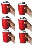 Red Solo Cup Beer Kooler - 6 Pack