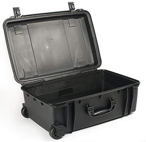 Wheeled Equipment Case (Seahorse SE-920 Waterproof Protective Hardcase without Foam (Black))