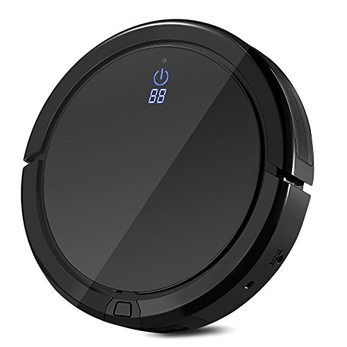 SMARTECH Robotic Vacuum Cleaner High Suction, Self-Docking,