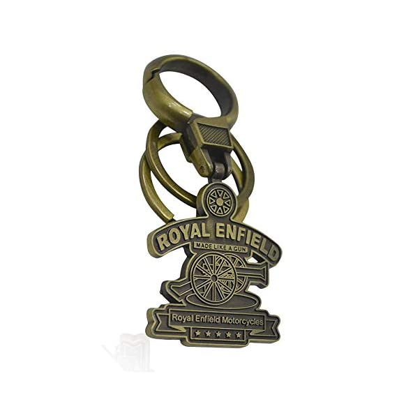 Easy4Buy WV01RCA08053 Metal Keychain for Royal Enfield Bullet Classic Chrome