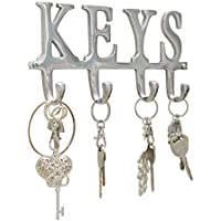 "Comfify Key Holder ""Keys"" – Wall Mounted Key Holder - 4..."