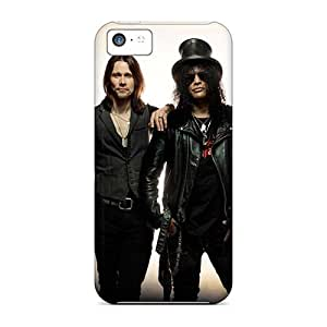 Iphone 5c AuR12851wGUA Customized Realistic Guns N Roses Band Series Shock Absorbent Hard Cell-phone Cases -Marycase88