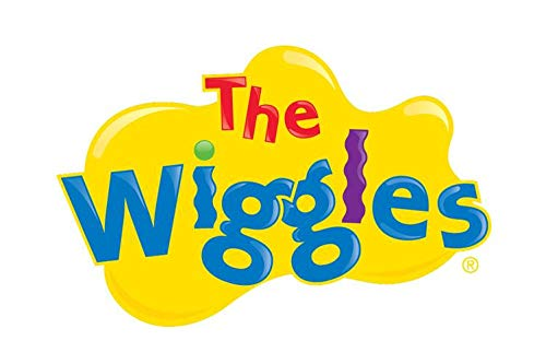(The Wiggles Logo Yellow Background Edible Cake Topper Image ABPID12748 - 1/8 sheet)