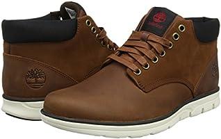 a76897da326 Timberland Men's Bradstreet Leather Sensorflex Chukka Sneakers,Brown ...