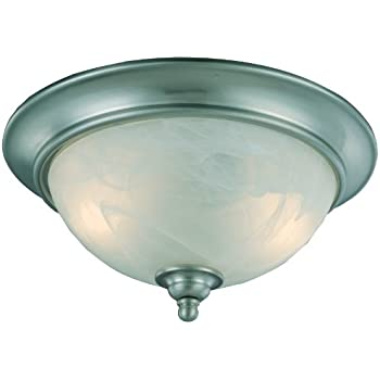 hardware house h10 4449 dover flush mount ceiling fixture satin nickel flush mount ceiling. Black Bedroom Furniture Sets. Home Design Ideas