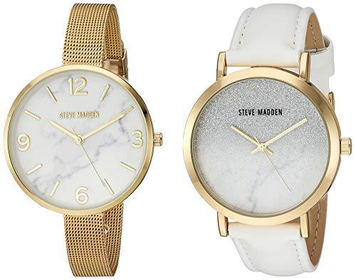 Steve Madden Fashion Watch (Model: SMWS054G-WT)